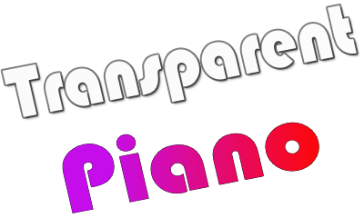 Transparent-Piano